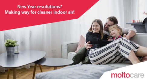 New Year resolutions? Making way for cleaner indoor air!