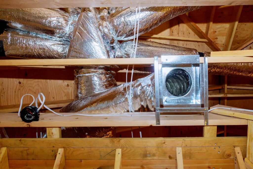 Image of an AC Duct