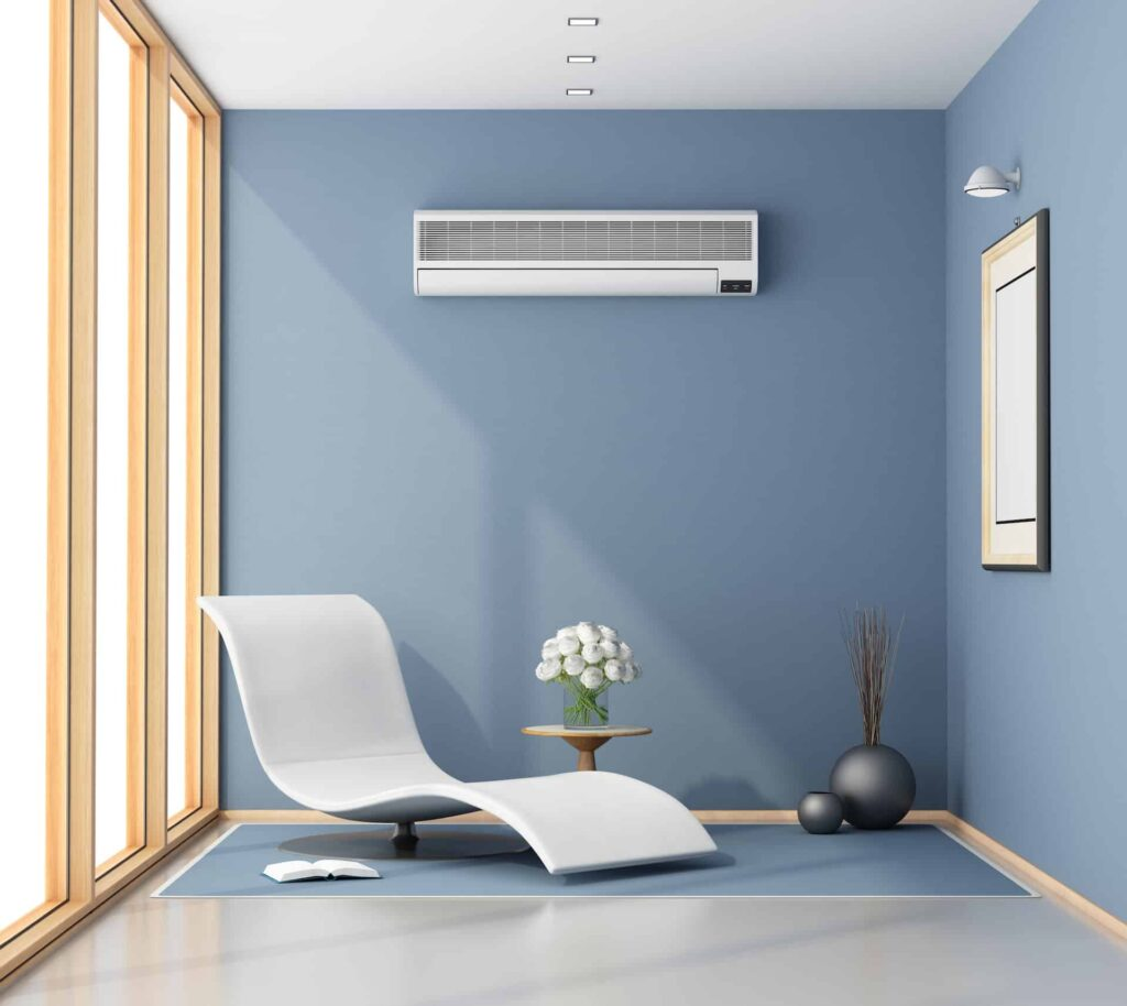 Image of a room with an Air Conditioner